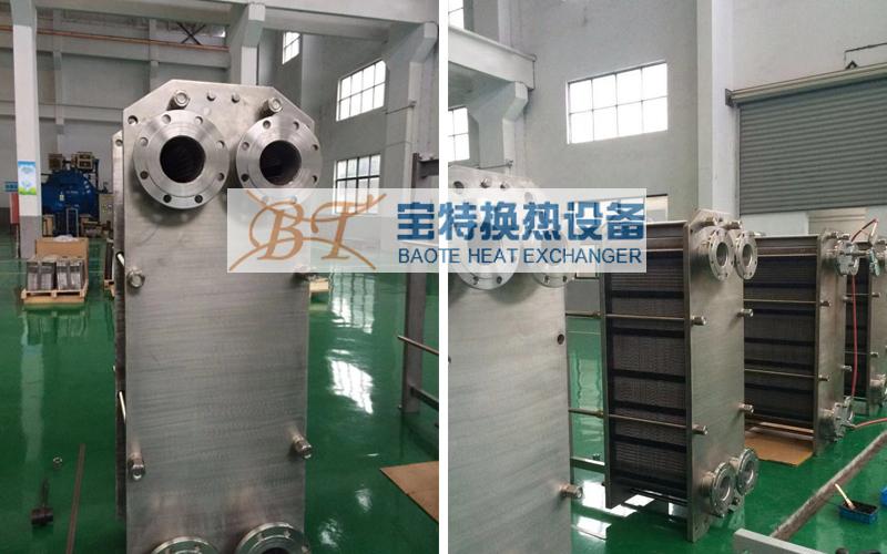 江阴宝特换热器厂区展示