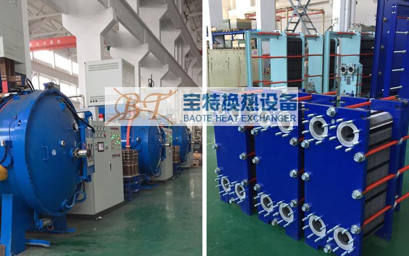 可拆板式换热器厂区展示