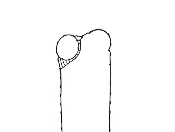 桑德斯板式换热器密封胶垫