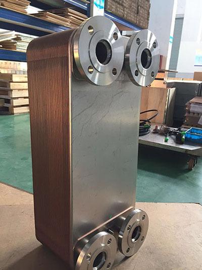 钎焊式板式换热器
