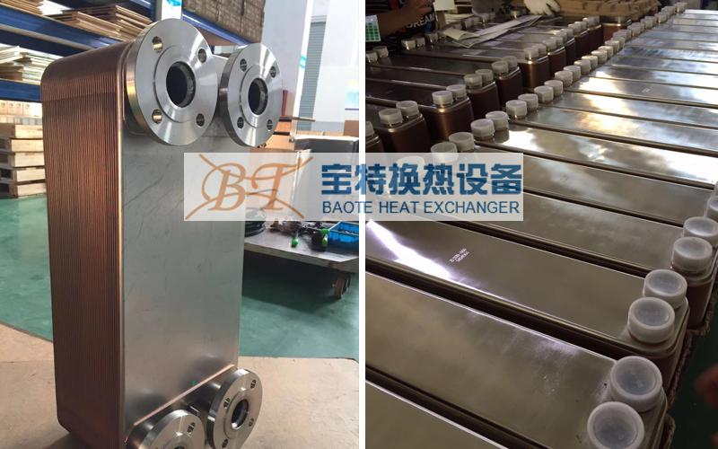 钎焊板式换热器钎焊板式换热器运行时常见故障分析