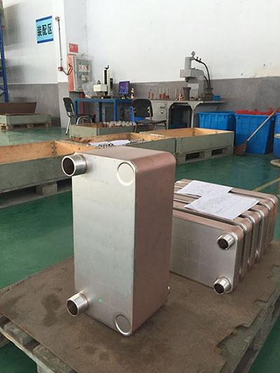 如何清洗钎焊板式换热器组合部件
