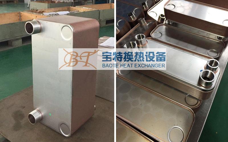板式换热器厂家分享板式换热器设备中可定制的内容