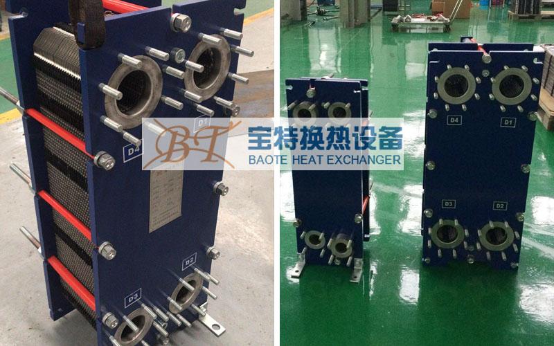 板式换热器厂家分享导致换热器加工误差的原因